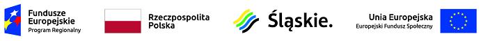 Baner z logotypami unii europejskiej